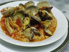 イタリア料理レシピ アサリとバジルのリゾット
