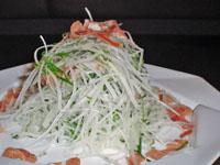 イタリア料理レシピ 大根と生ハムのサラダ